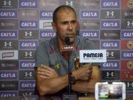 Milton revela dúvida para montar o Sport contra o Flamengo