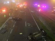 Acidente: 22 veículos, 8 mortos e dezenas de feridos no PR