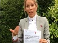 Filha de Brigitte Macron rebate Guedes e lança campanha