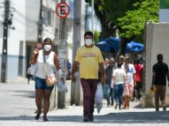 Coronavírus altera rotina e comércio em Pernambuco