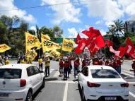 No calor do Recife: a rotina de quem trabalha em campanhas