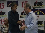 Após imbróglio, Raul e FBC demonstram unidade no MDB de PE