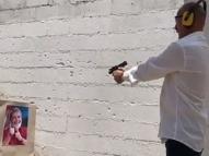 Assessor do PSL 'aconselha' Janot atirando em foto de Lula