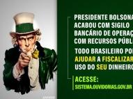 Ícone dos EUA 'Tio Sam' estampa propaganda do governo