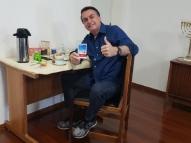 Bolsonaro afirma que teste para Covid-19 deu negativo