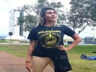'Não sei mais quem ele é', diz Sara Winter sobre Bolsonaro