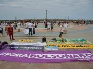 No Recife, manifestação cobra impeachment de Bolsonaro