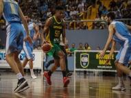 Seleção Brasileira de basquete vence Uruguai em Belém