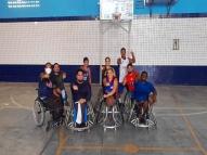 Seel garante apoio à equipe de basquete paralímpico