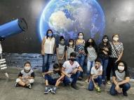 Planetário reabre para visitação programada de escolas