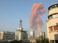 Imagens: explosões em Beirute deixaram vários feridos