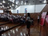 Outubro Rosa movimenta estudantes da área de saúde