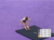 Vídeo: Ginasta quebra as duas pernas durante competição