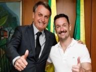Diego Hypólito é criticado após encontro com Bolsonaro