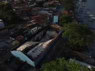 Incêndio atinge Mercado de Artesanato de Itapissuma