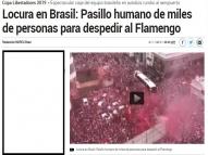 Jornal confunde torcida do Flamengo com a do Náutico
