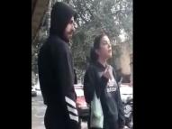 Mulher de Bruno Henrique defende jogador na rua e viraliza