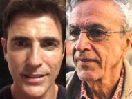 Gianecchini canta para celebrar os 77 anos de Caetano