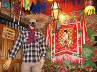 Morador do Recife decora casa em clima de São João