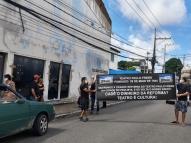 Ato pede retomada de obras no Teatro Paulo Freire