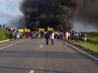 Protestos bloqueiam rodovias em PE nesta segunda (9)