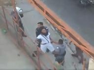 Homem desmaia após ser estrangulado duas vezes pela PM