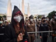 Protesto na Tailândia usa referências de Harry Potter