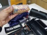 PF e Receita apreendem drogas enviadas pelos Correios