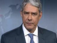 William Bonner rebate fala de Bolsonaro sobre o Brasil