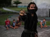 Ninjutsu: arte marcial ninja conquista adeptos no Recife