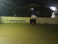 Em Sanharó, chuva forte causa alagamentos e estragos