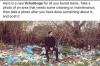 Desafio do lixo: brincadeira toma as redes sociais