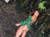 Aline Riscado empina bumbum em passeio pelo México