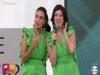 Dani Calabresa se veste de gêmea de Fátima Bernardes