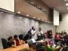 Estudantes da UFPE lotam auditório para ouvir Boulos