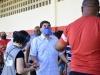 Brigas na fila marcam início da votação no Arruda