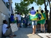 Confira imagens do ato pró-Bolsonaro na av. Boa Viagem