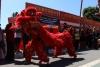 Dança do Leão e do Dragão durante a Festa do Ano Novo Chinês 2019