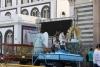 Carros do Círio ficam em exposição na Praça Santuário