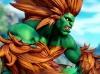 Querido por muitos brasileiros, já que seu estágio de luta se passa na Amazônia, Blanka, é uma fera verde, de cabelos loiros, que ataca seus inimigos com mordidas, golpes velozes e descargas de eletricidade. As origens de Blanka sempre foram especuladas pelos fãs, mas até o momento, a Capcom não esclareceu a história do monstrengo.