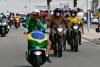 Infrações de trânsito marcam 'motociata' em PE