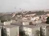 Ventania arranca telhado de prédio em Santa Catarina