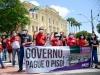 Professores fazem paralisação e protestam no Recife